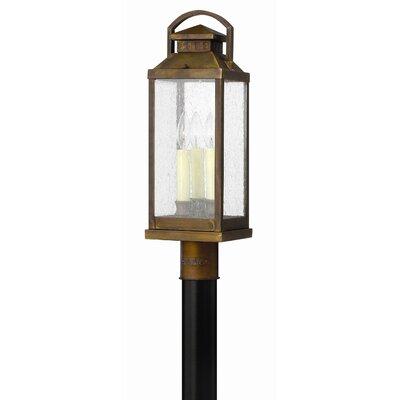 Hinkley Lighting Revere 3 Light Outdoor Post Lantern