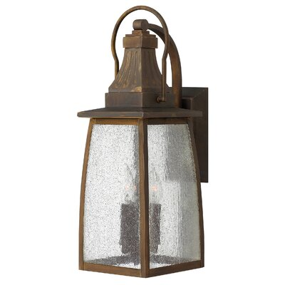 Hinkley Lighting Montauk Three Light Medium Outdoor Wall Lantern