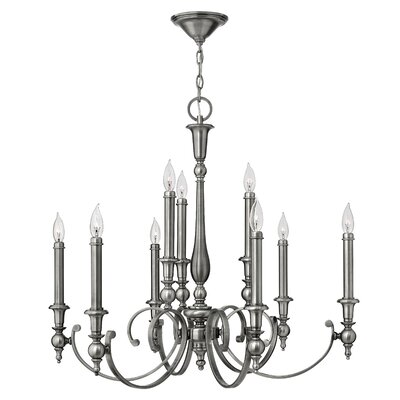 Hinkley Lighting Yorktown 9 Light Chandelier