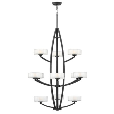 Meridian 12 Light Invert Foyer Pendant