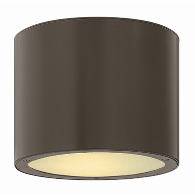 Hinkley Lighting Luna 1 Light Outdoor Flush Mount