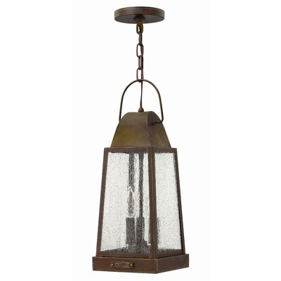 Hinkley Lighting Sedgwick 3 Light Outdoor Hanging Lantern