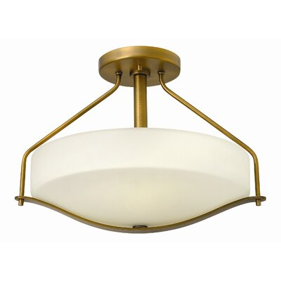 Hinkley Lighting Pelham 3 Light Semi Flush Mount