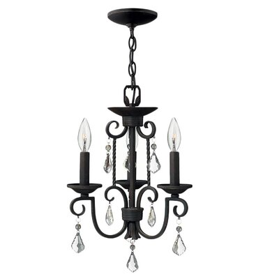 Hinkley Lighting Casa 3 Light Chandelier