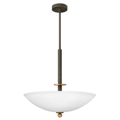 Hinkley Lighting Cooper 4 Light Invert Foyer Inverted Pendant