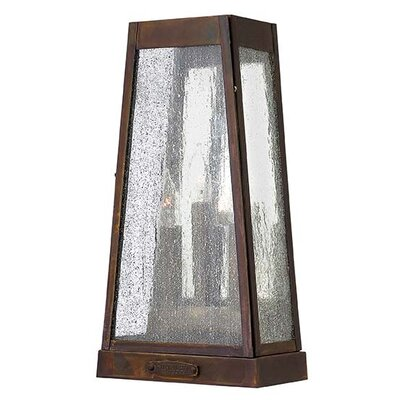 Hinkley Lighting Valley Forge 3 Light Outdoor Wall Lighting