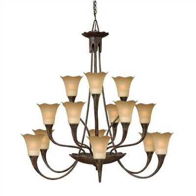 Hinkley Lighting Jardino 15 Light Chandelier
