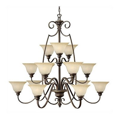 Hinkley Lighting Cello 15 Light Chandelier
