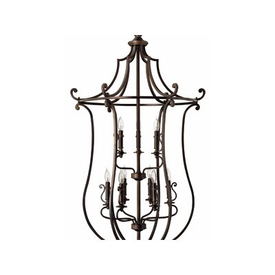 Hinkley Lighting Plymouth 9 Light Foyer Pendant