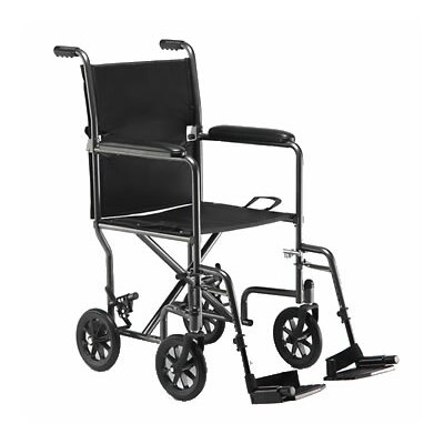 Invacare Steel Ultra Lightweight Transport Wheelchair