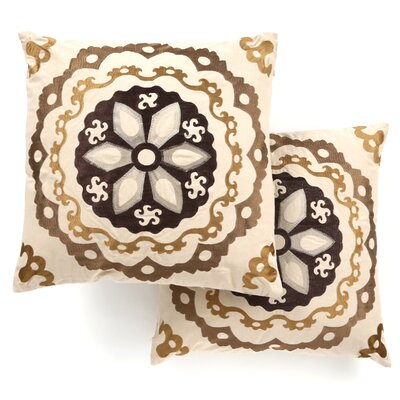Safavieh Thea Linen / Cotton Decorative Pillow (Set of 2)