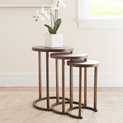 Safavieh Sawyer 3 Piece Nesting Tables