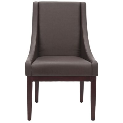 Safavieh Sloping Leather Chair