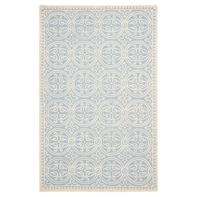 <strong>Safavieh</strong> Cambridge Light Blue/Ivory Rug