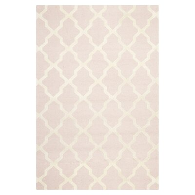 <strong>Safavieh</strong> Cambridge Light Pink/Ivory Rug