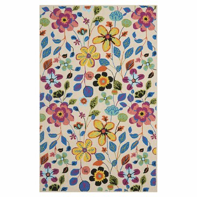 Loloi Rugs Juliana Floral Ivory Area Rug Amp Reviews Wayfair