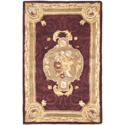Empire Royal MaroonBeige Rug
