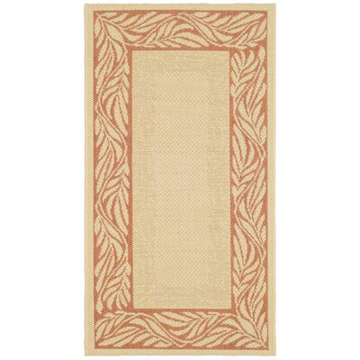 Safavieh Courtyard Natural/Terra Rug