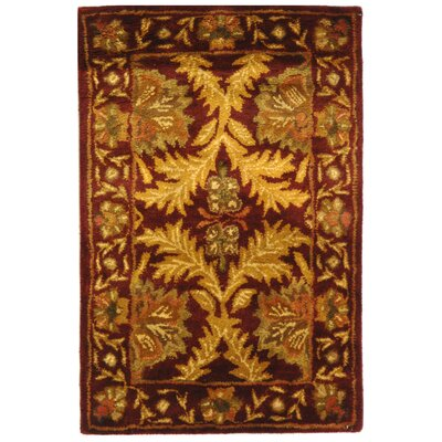Antiquities William Morris Wine/Gold Rug