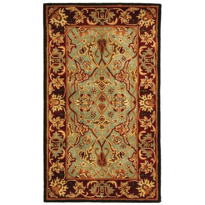 Heritage Light Blue/Red Rug