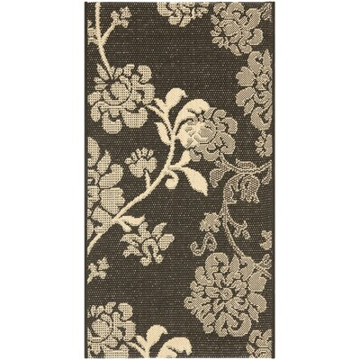 Safavieh Courtyard Black Natural/Brown Rug