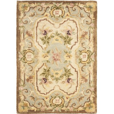 Empire Ivory/Light Blue Rug