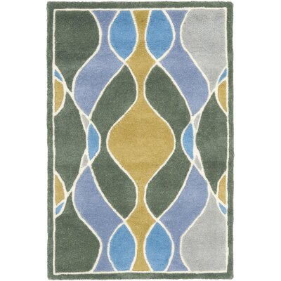 Safavieh Soho Grey/Multi Swirl Rug