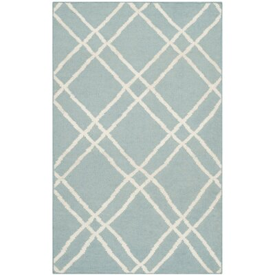 Safavieh Dhurries Light Blue Rug