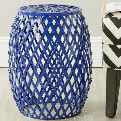 Safavieh Fox Evan Iron Strips Welded Stool