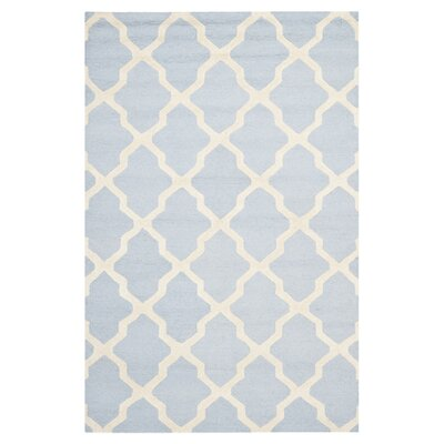 Safavieh Cambridge Light Blue/Ivory Rug