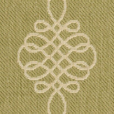 Safavieh Courtyard Green/Creme Rug