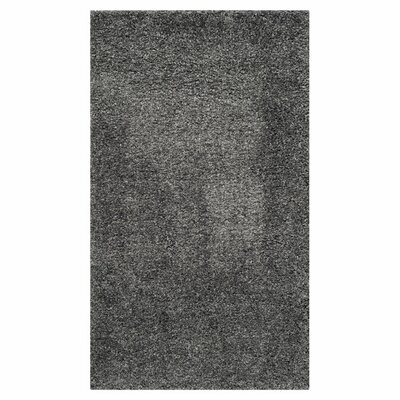 5 -.55Shag Dark Grey Rug