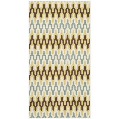 Safavieh Hampton Green / Light Blue Outdoor Rug