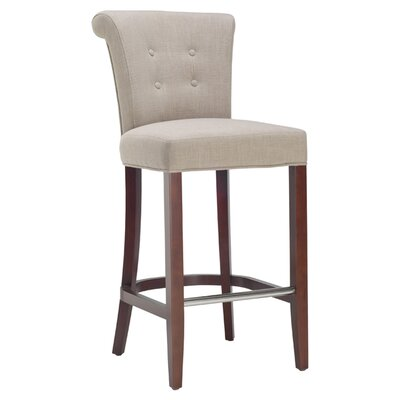 <strong>Safavieh</strong> Aldo Bar Stool with Cushion