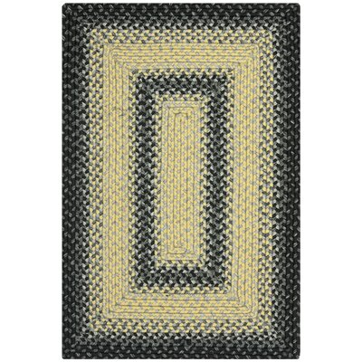 Safavieh Braided Black/Grey Rug