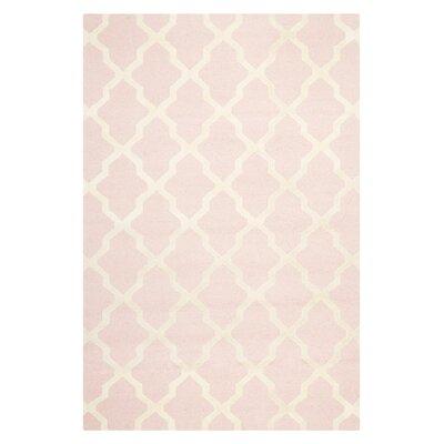 Safavieh Cambridge Light Pink/Ivory Rug