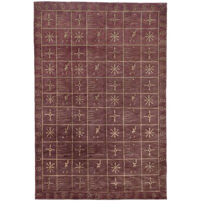 Safavieh Tibetan Plum Pictogram Rug