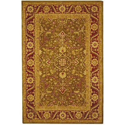 Safavieh Anatolia Sage Green/Persimmon Rug