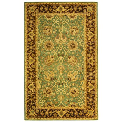 Safavieh Antiquities Green/Brown Rug