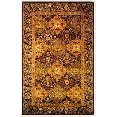 Antiquities Deep Brick Red Rug