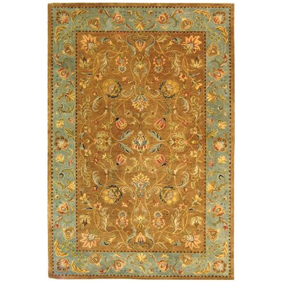 Safavieh Bergama Brown/Blue Rug