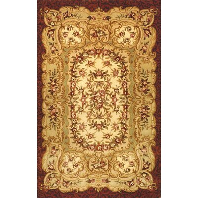 Safavieh Classic Ivory/Red Rug