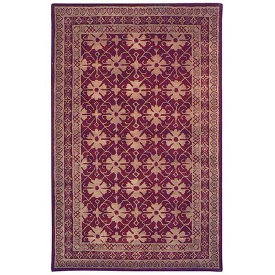 Safavieh Classic Dark Red/Beige Rug