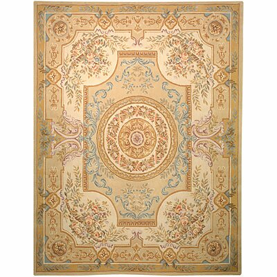 Safavieh French Tapis Soft Green/Beige Rug