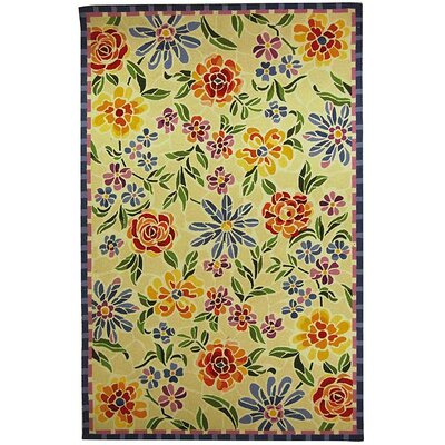 Chelsea Meadow Butter/Blue Novelty Rug