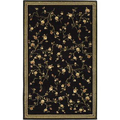 Lyndhurst Black/Green Rug