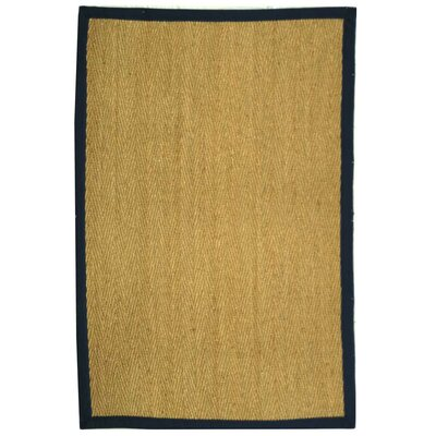 Safavieh Natural Fiber Natural/Blue Rug