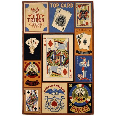 Chelsea BlackJack Novelty Rug