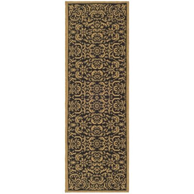 Courtyard Dark Black Rug