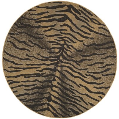Safavieh Courtyard Light Black/Natural Rug